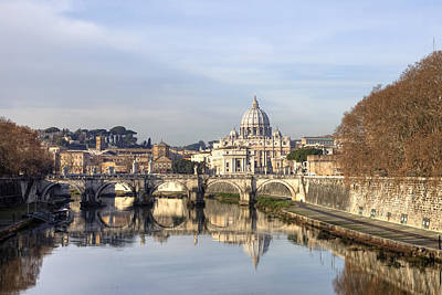 Vatican City Photograph - St. Peter's Basilica by Joana Kruse