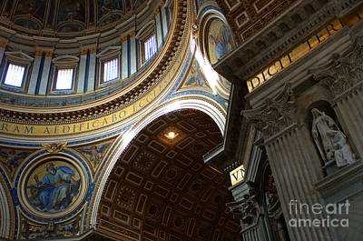 Photograph - St Peters Cathederal 4 by Bob Christopher