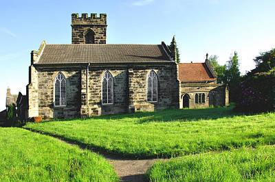 St Peter's Church - Hartshorne Art Print