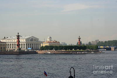 City Lanscape Photograph - St Petersburg And River Neva - Russia by Christiane Schulze Art And Photography