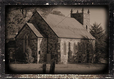 St Stephens Anglican Church Art Print