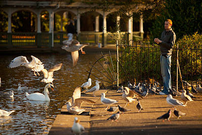 Photograph - St Stephens Green-dublin by John Galbo