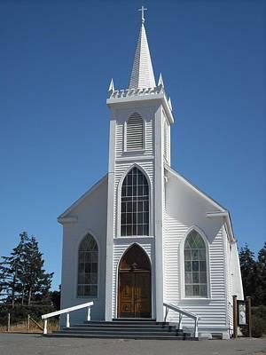 Photograph - St Teresa Of Avila Church Bodega by Kelly Manning