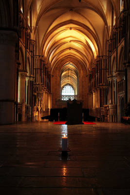 Photograph - St Thomas Becket's Shrine by Lisa Knechtel