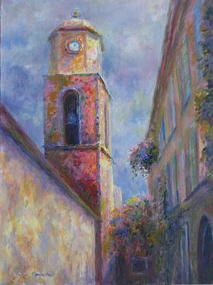 Art Print featuring the painting St. Tropez by Bonnie Goedecke