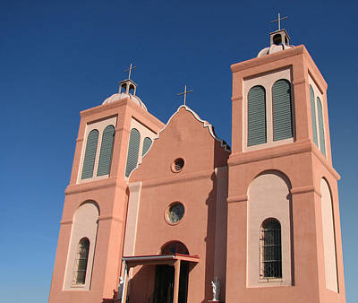 Holmberg Photograph - St. Vincent's Silver City Nm by Norm Holmberg