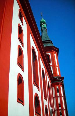 Photograph - St. Wenzel - Loket by Juergen Weiss