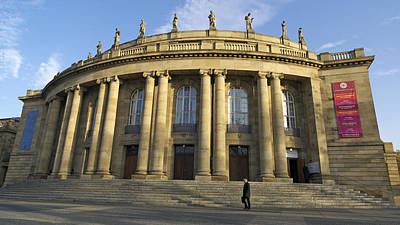 Photograph - Staatstheater State Theater Stuttgart Germany by Matthias Hauser