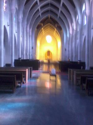 Monastery Mixed Media - Stabat Mater Dolorosa  by Tamara Gantt