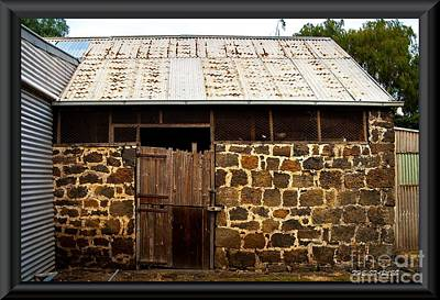 Photograph - Stables by James  Dierker
