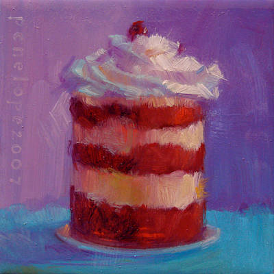 Gourmet Art Painting - Stack Of Love by Penelope Moore