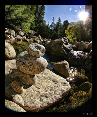 Photograph - Stacked Rocks by Blake Richards