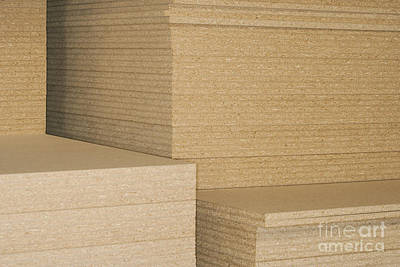 Stacks Of Plywood Art Print by Shannon Fagan