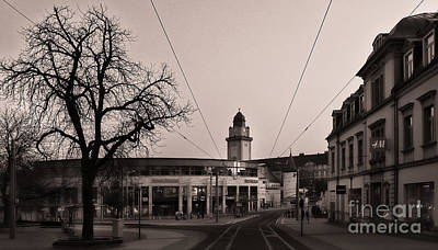 Black And White Photograph - Stadt Galerie by Ari Salmela