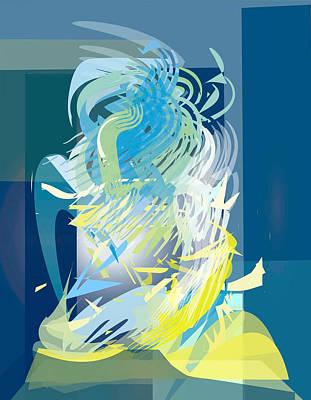 Metamorphasis Digital Art - stage 2-Journey to Success by Bryna La