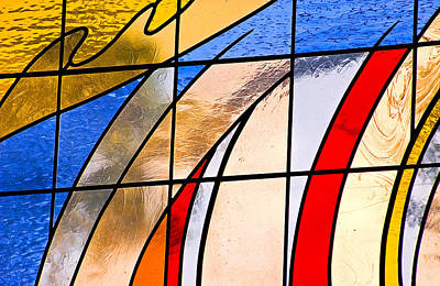 Photograph - Stained Glass by Carolyn Marshall