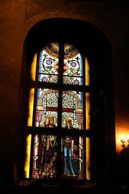 Photograph - Stained Glass  by Emanuel Tanjala