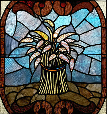 Stained Glass Lc 11 Art Print by Thomas Woolworth