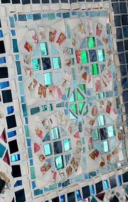 Mosaic Mixed Media - Stained Glass by Wendy Nelson