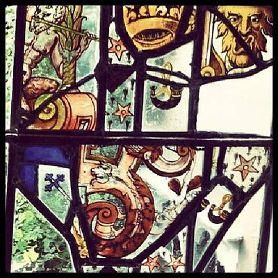 Dutch Photograph - #stained, #glass, #window, #dutch by Rykan V