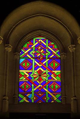 Stained Glass Window In Mezquita Art Print by Artur Bogacki