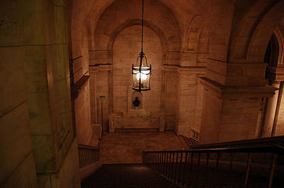 Staircase At The New York City Library Original by Magdalena Warmuz-Dent