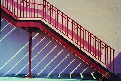 Staircase On A Wall Art Print