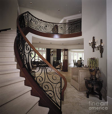 Staircase Print by Robert Pisano