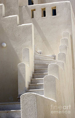 Photograph - Stairs In Greece by Sabrina L Ryan