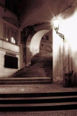 Nikl Praha Photograph - Stairs In Prague - Petr Nikl Fotograf Praha by Petr Nikl