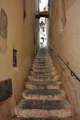 Stairs Italian Art Print by Ryszard Unton
