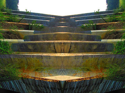 Stairs Art Print by Michele Caporaso