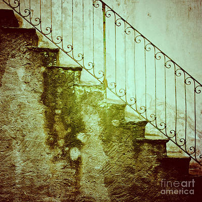 Photograph - Stairs On A Rainy Day II by Silvia Ganora