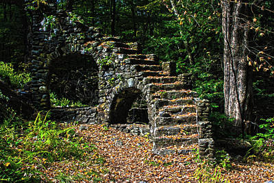 Stairs To Nowhere Art Print by Tanya Chesnell