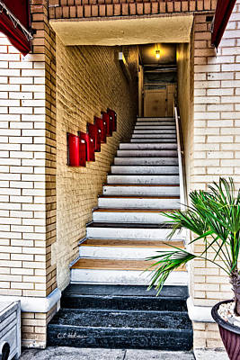 Stairway Art Print by Christopher Holmes