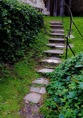 Photograph - Stairway by David Freuthal