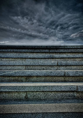 Photograph - Stairway Leading To The Stormy Sky by Michael Goyberg