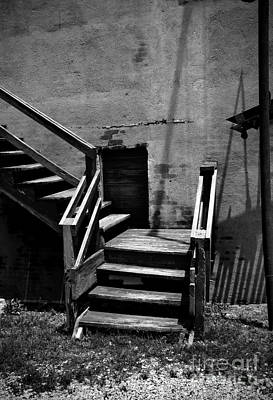 Photograph - Stairway Left by Fred Lassmann