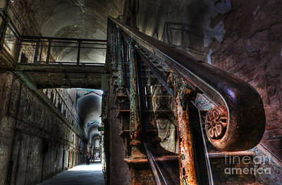 Photograph - Stairway Of Terror - Eastern State Penitentiary by Lee Dos Santos
