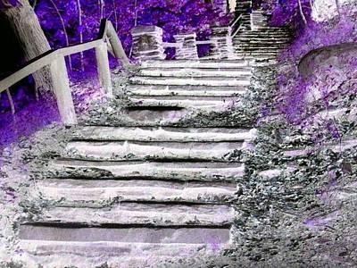 Photograph - Stairway To Heaven by Rhonda Barrett
