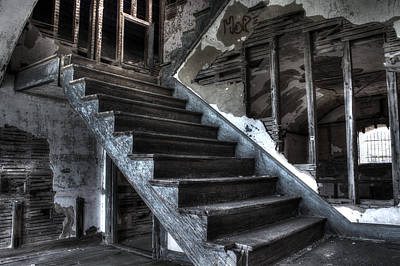 Photograph - Stairway To Ruin by Andrew Pacheco
