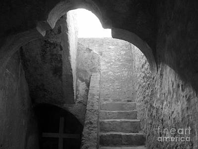 Old Churches Photograph - Stairway To The Sky by Keith Kapple