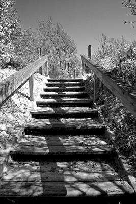 Photograph - Stairway To The Sound by Michelle Constantine