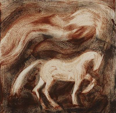 Stallion Art Print by Sophy White