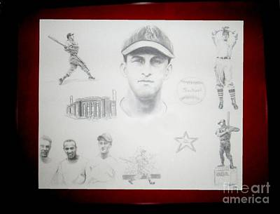Stan Musial Drawing - Stan Musial - Stan The Man by Carliss Mora