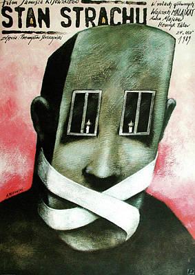 Mixed Media - Stan Strachu by Andrzej Pagowski