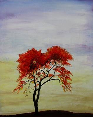 Painting - Stand Alone by Salwa  Najm