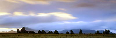 Megalith Photograph - Standing Stones by Jeremy Walker