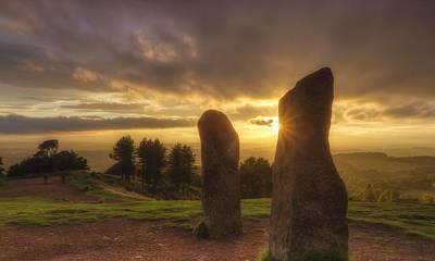 Megalith Photograph - Standing Stones by Rich Jones Photography