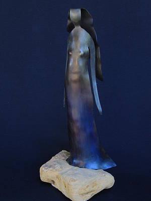 Sculpture - Standing Woman by Todd Malenke